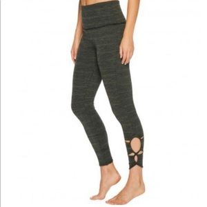 Free People Movement Revolve Leggings Green Combo
